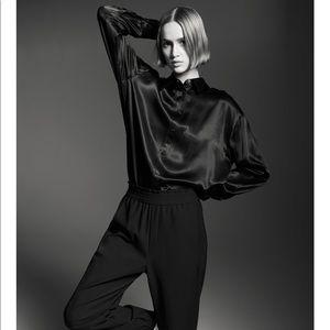 Zara Satin effect Shirt